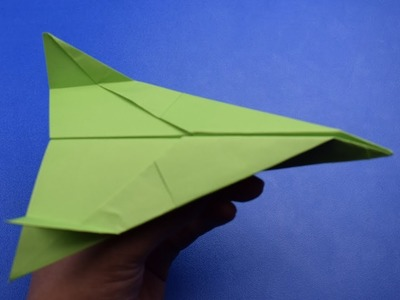How to make a GOOD PAPER PLANE THAT FLIES  |cool paper airplane that flay FAR| M1