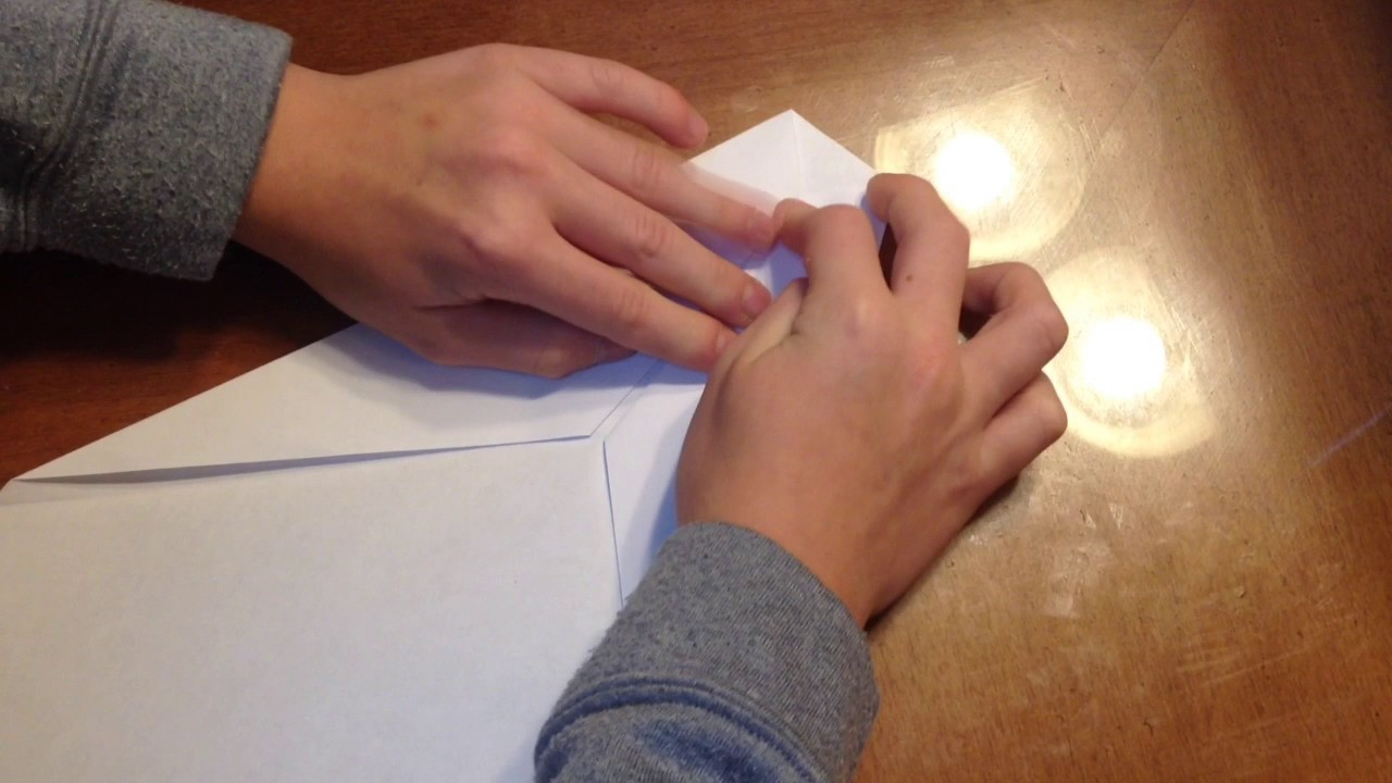 how to make a lit paper airplane