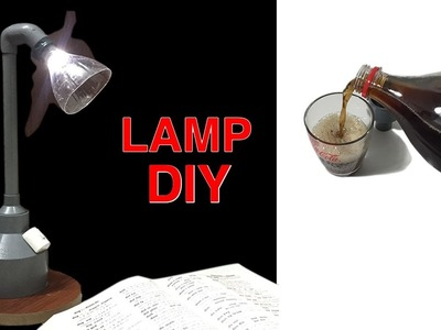 How to make table lamp at home | Led Lamp Diy