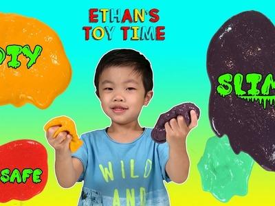 Kid Safe DIY How To Make Slime For Kids NO Borax Paw Patrol Disney Pixar Toy Story Slime Play