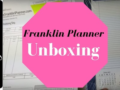 New Franklin Covey Planner Refills!  Monticello 2 Pages Per Day Daily Planner