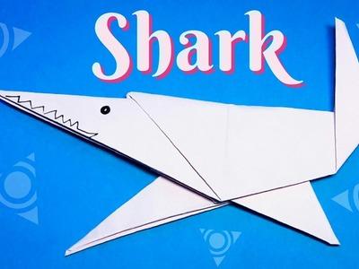 Origami Shark easy to fold easy to follow HD tutorial