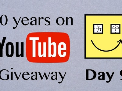 [past] Origami Giveaway Day 9 of 10 (Celebrating 10 years on YouTube)