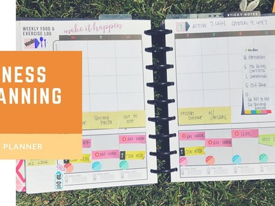 Plan with Me- Fitness Classic Happy Planner