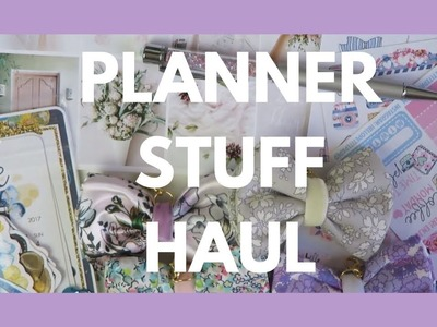 PLANNER SUPPLIES HAUL. Stickers, Papers, Charms, and More!