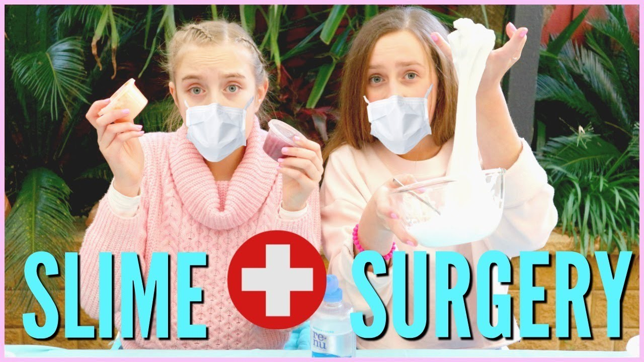 SLIME SURGERY! Fixing And  Mixing GROSS Old Slime Collection!!