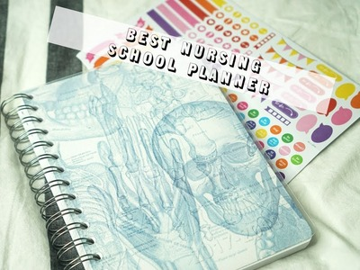 THE BEST PLANNER FOR NURSING SCHOOL! Personal Planner First Impressions & Unboxing | About Issa