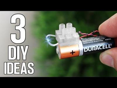 3 DIY Ideas and Life Hacks