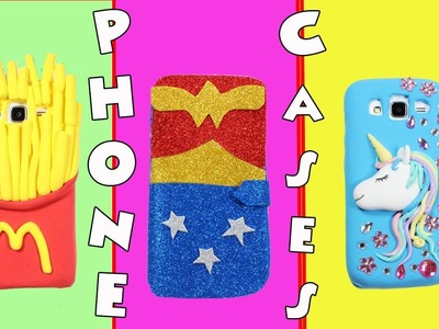 4 DIY Phone Cases | Easy And Cute iPhone Cases Ideas