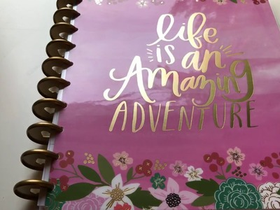 A flip through of Happy Memory Keeping Planner