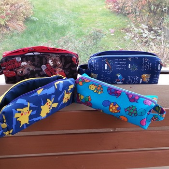 Annex Double Zipper Pouch