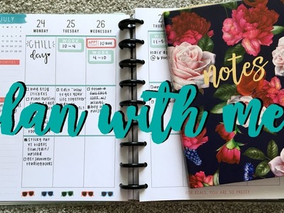 Back to school plan with me. planner organization feat. the happy planner #btswithsar