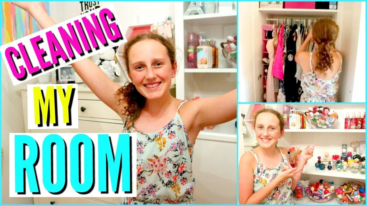 CLEANING MY ROOM!  -  Plus Organisation 2017 l Millie and Chloe DIY