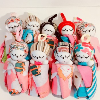 cute doll hand towels