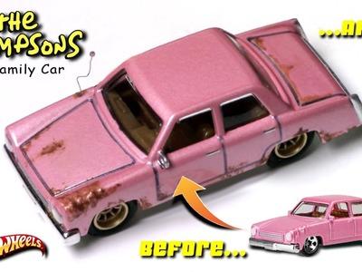 Detailing The Simpson's Family Car | Fun DIY.  DOH!!!