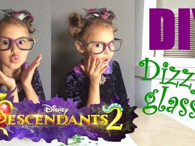 Disney's Descendants 2 - Dizzy's Glasses - DIY by 5 year old Miss Scarlett Noelle