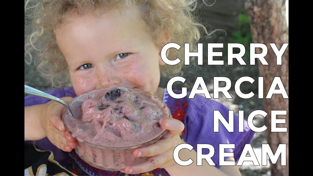 DIY Cherry Garcia Ice Cream |  Raw Vegan Recipe