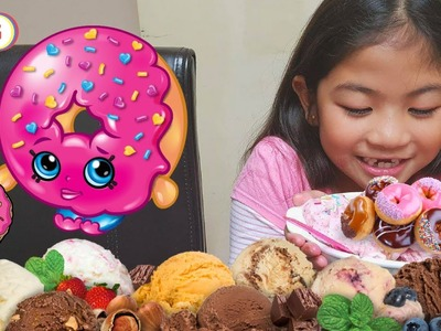 DIY  DONUT ICE CREAM SANDWICH for Kids | Kids Can Cook | Baking with Klarion
