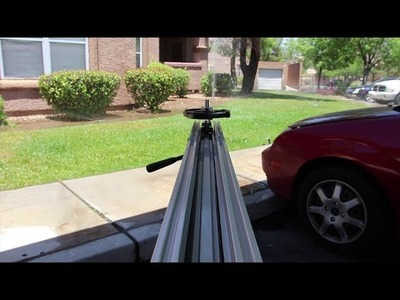 DIY Flywheel Camera Slider with OpenBuilds