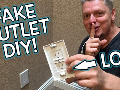 DIY How To Make FAKE OUTLET PRANK!