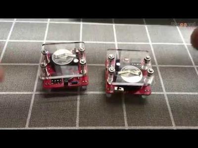 DIY Shaking LED Dice Kit With Small Vibration Motor