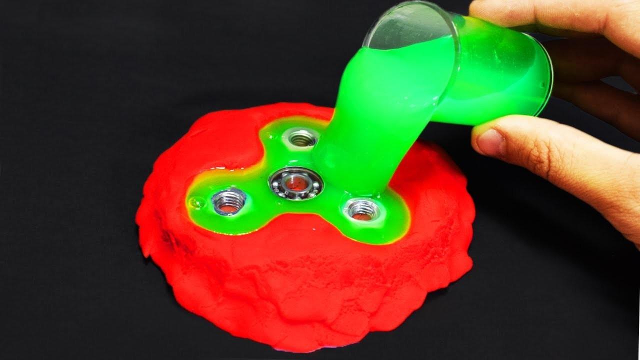 DIY Slime Fidget Spinner