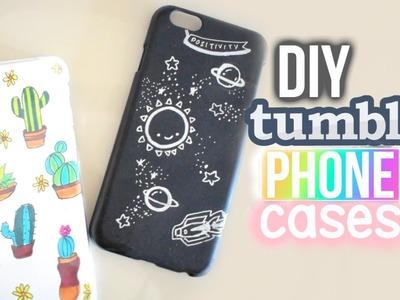 DIY TUMBLR DOODLE PHONE CASES - Quick & Easy Ideas