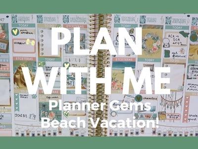 ERIN CONDREN. Plan With Me - Planner Gems Beach Week!