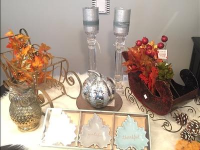 Fall & Christmas Home Decor Haul : Homesense, Michaels, Dollar Tree, Dollarama, Salvation Army