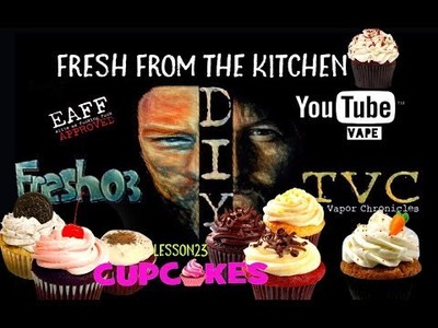 Fresh From The Kitchen DIY On TVC-Lesson 23:CUPCAKES Are Delicious