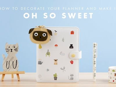 How to Decorate your kikki.K Sweet Planner