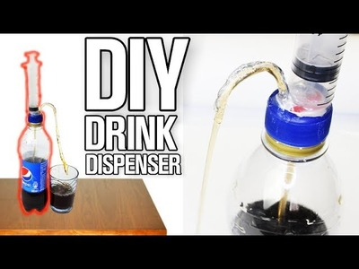 How to Make a Drink Dispenser - DIY Drink Life Hacks