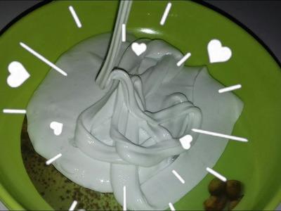 How to make super glossy slime! DIY glossy.clicky slime