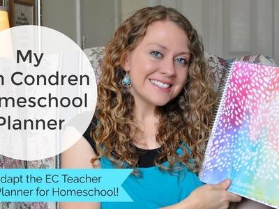 How to Use the Erin Condren Teacher Planner for Homeschool