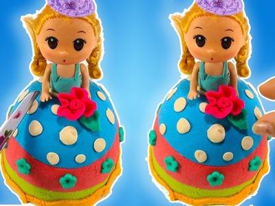 Kinetic Sand STOP MOTION Minions ???? DIY How To Make Kinetic Sand Disney Princess Dresses Magic Dolls