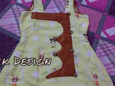 Latest Front Neck Design Of Women Kurti Cutting And Stitching. DIY.SARA