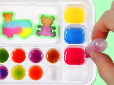 LEARN COLORS Kracie Popin Cookin Gummy Land Fun & Easy DIY Japanese Candy Making Kit!