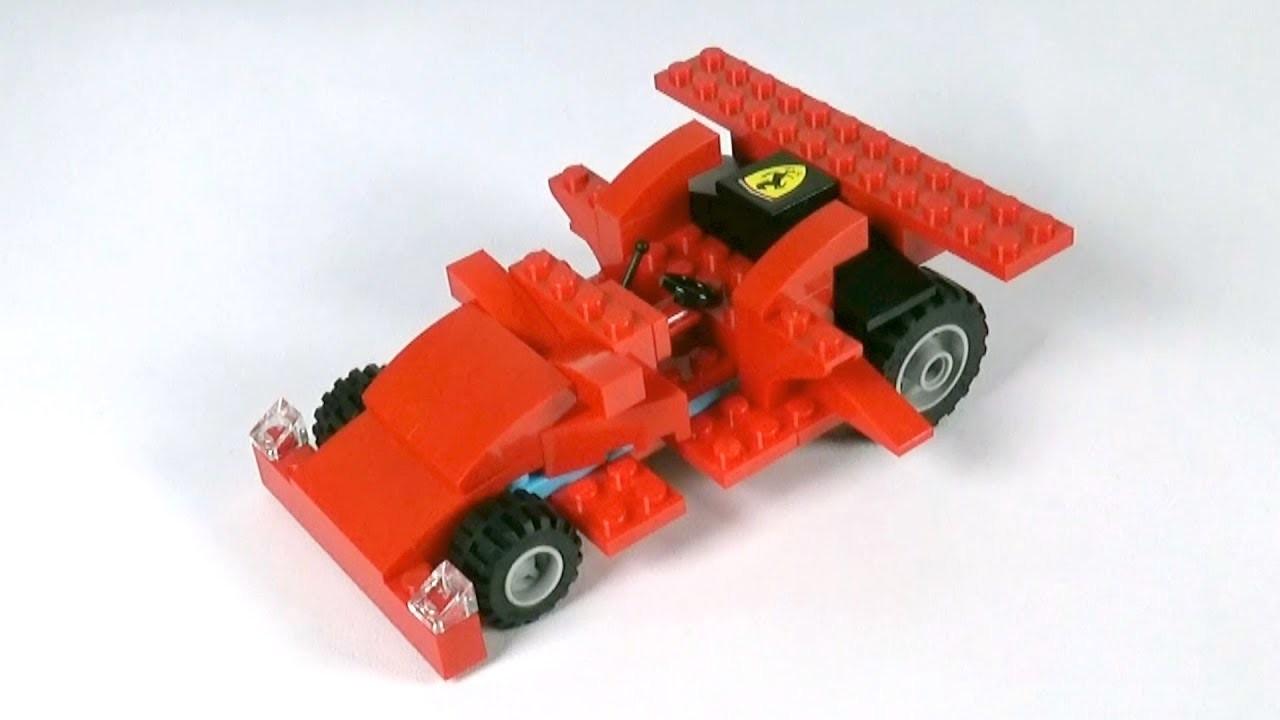 Lego Race Car (001) Building Instructions - LEGO Classic How