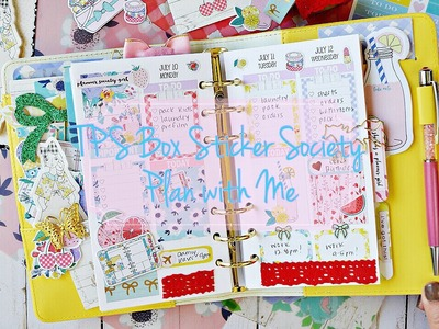 Personal Plan with Me Featuring The Planner Society