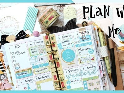 PERSONAL PLAN WITH ME ll FT THE PLANNER ADDICT BOX  ll JULY 2017