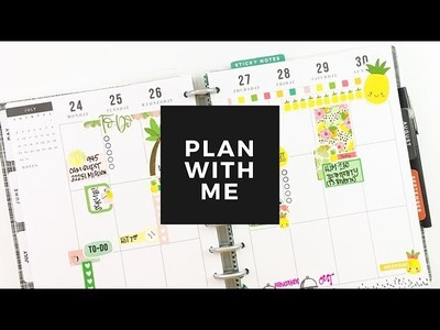 Plan With Me: July 24-30, 2017 [Mommy Lhey + The Planner Junkie in the Happy Planner®]