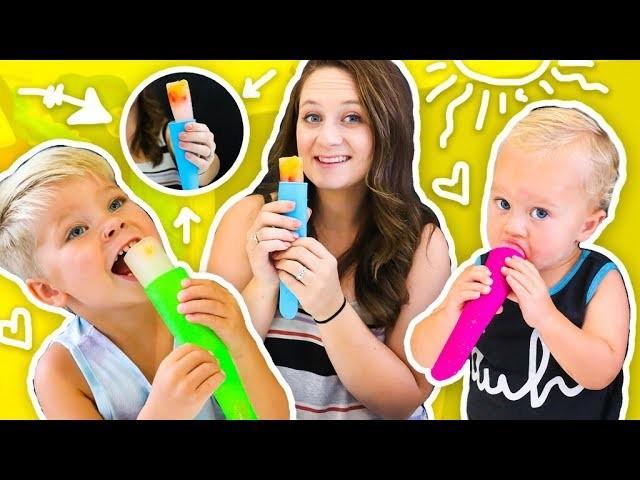 SUMMER PUSH POPS! ???? KID FRIENDLY DIY!