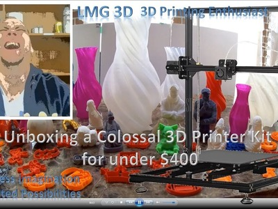 Unboxing the X3S - Best DIY 3D Printer kit under $300???
