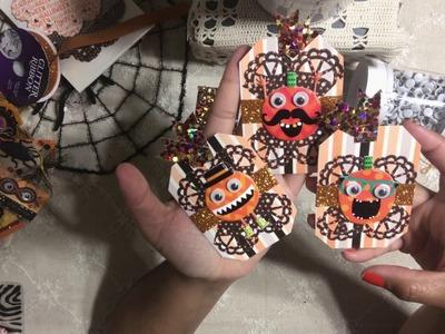 # 10. DIY Halloween Tags - Halloween Craft Series 2017