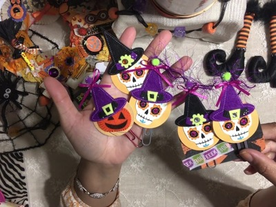 #5. DIY Paper Clip - Day Of the Dead - Halloween Craft Series 2017
