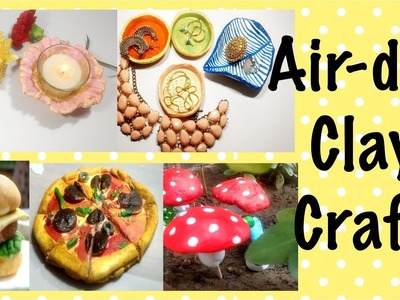 Air-dry Clay Craft | Home and Garden decor