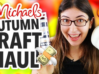 AUTUMN CRAFT SUPPLY HAUL ~ DIY FALL.HALLOWEEN CRAFTS | @karenkavett