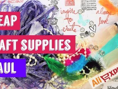 Cheap Craft Supplies Haul The Best from Aliexpress DIY Handmade Art Materials Doll Artist Barbie