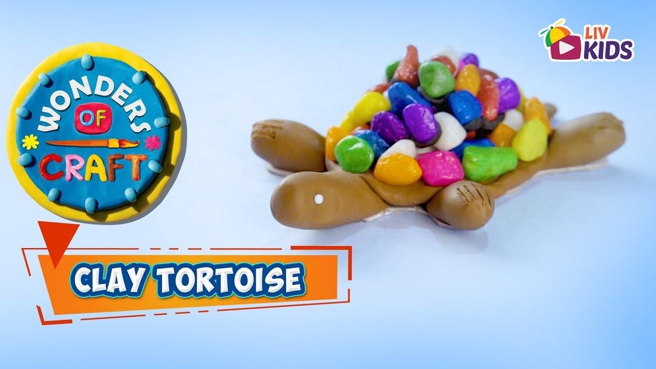 Clay Tortoise - Wonders Of Craft – DIY Crafts For Kids