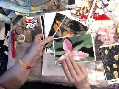 Craft & Chat.  Use Up Your Book Pages
